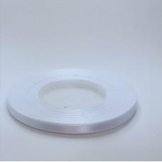 White Satin Ribbon - 6mm
