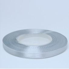 Grey Satin Ribbon - 6mm