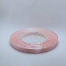 Salmon Satin Ribbon - 6mm