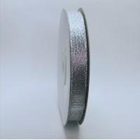 Glitter ribbon - SILVER -12mm