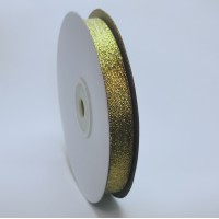 Glitter ribbon - GOLD -12mm