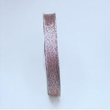 Glitter ribbon - Brown -12mm