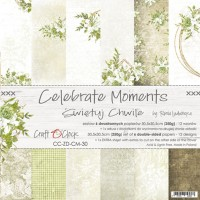 Craft O`Clock - Celebrate Moments - 12x12 Paper Set