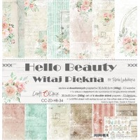 Craft O`Clock - Hello Beauty - 12x12 Paper Set