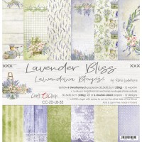Craft O`Clock - Lavender Bliss - 12x12 Paper Set