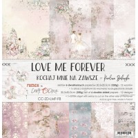 Craft O`Clock - Love Me Forever - 12x12 Paper Set