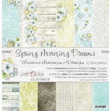 Craft O`Clock - Spring Morning Dreams - 12x12 Paper Set