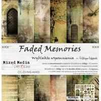 Craft O`Clock - Faded Memories - 12x12 Paper Set