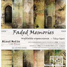 Craft O`Clock - Faded Memories - 12x12 Paper Set