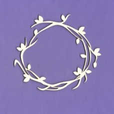 Spring chaplet - 0458 Cardboard