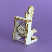 Prie-dieu 3D - Girl - 1385 Cardboard