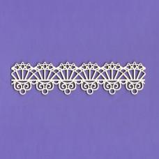 Viva lace border - 0140 Cardboard