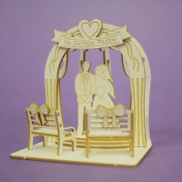 Wedding pergola 02 - 1401 Cardboard