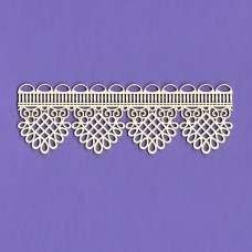 Dream lace border - 0244 Cardboard