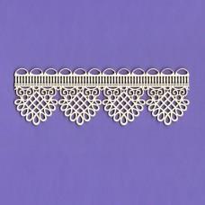 Dream lace border - 0244 Cardboard