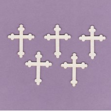 Cross 5 pcs - 0368M Cardboard