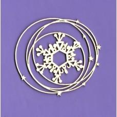Snowy frame 01 - 0792 Cardboard
