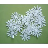 Daisy I  - White petals set 5 cm