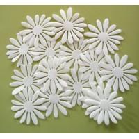 Daisy I  - White petals set 6 cm