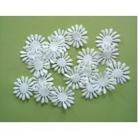 Daisy I  - White petals set 3 cm