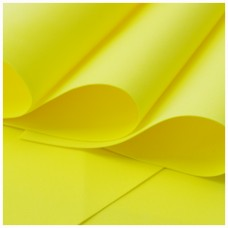 005 Foamiran Yellow  - 0005 Foam