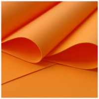 007 Foamiran Orange  - 0007 Foam