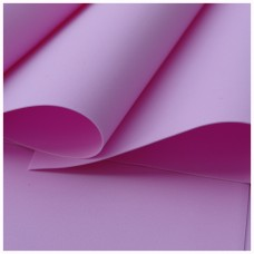 009 Foamiran Pink  - 0009 Foam