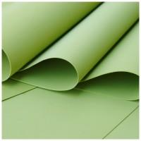 014 Foamiran Olive green  A 4- 0014 Foam
