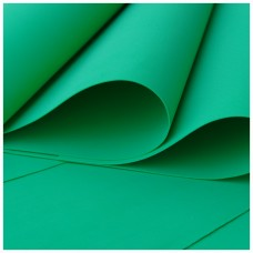 015 Foamiran Green  A 4 - 0015 Foam