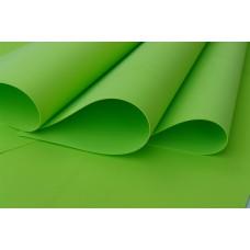 030 Foamiran Green Apple  - 0030 Foam