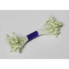 Pearl stamens - pistachio  - 0017 Stamen