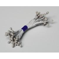 Pearl stamens - grey- 0027 Stamen