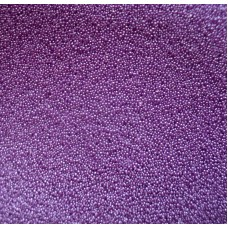 Glass microbeads - violet - 0002 Emb