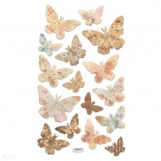 Foam Stickers - Butterflies - 16 pcs