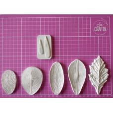 01 Set of moulds -  Petals