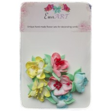 Unique hand-made flower set - Adela