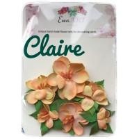 Unique hand-made flower set - Claire