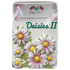 Unique hand-made flower set - Daisies II