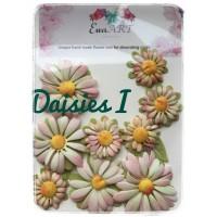 Unique hand-made flower set - Daisies I