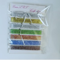 Set of Glitter ribbons- Christmas Collection