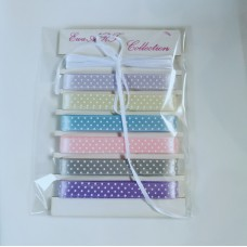 Set of Satin Ribbons with dots - Baby II Collection