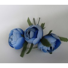 Bunch of flowers  -  blue