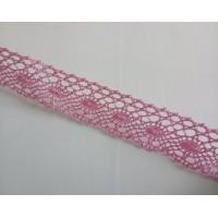 Lace 3.3 cm  wide - Pink