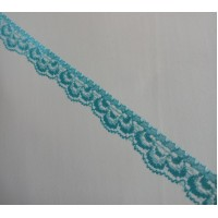 Lace 1.5 cm  wide - Blue
