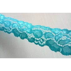 Lace 3.5 cm  wide - Turquoise