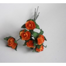 Bunch of small roses  - orange