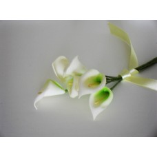 Calla lily posy - ecru