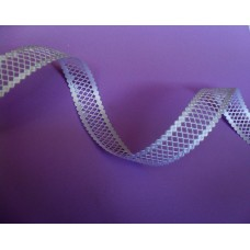 Lattice trim 2.5 cm  wide - white