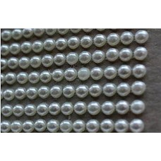 Self-adhesive pearls 4 mm - 0006 Emb