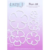 LADY E Design - Flower 001 Die
